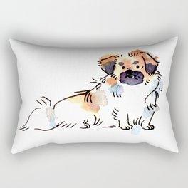 Princeton - Dog Watercolour Rectangular Pillow