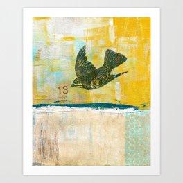 Lucky No. 13 Art Print