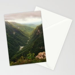 Canyon of Waterfalls Stationery Cards