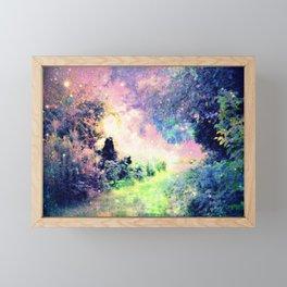 Pastel Fantasy path Framed Mini Art Print