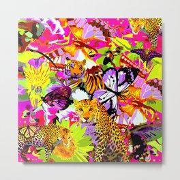 Pink safari Metal Print