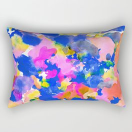 Floral splash Rectangular Pillow