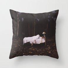 Night Demons Throw Pillow