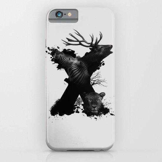 X ANIMALS iPhone & iPod Case