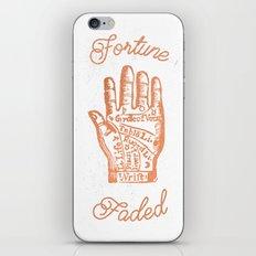 Fortune Faded iPhone & iPod Skin