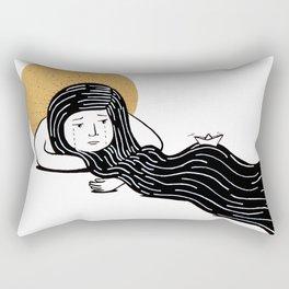 deuil Rectangular Pillow