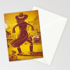 The Last Showdown - The bad guy Stationery Cards