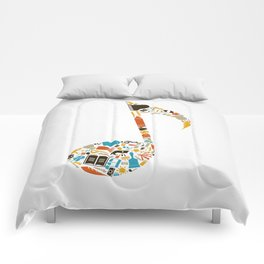 Art the note Comforters