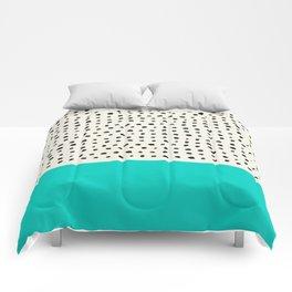 Aqua x Dots Comforters