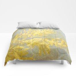 Golden Wattle Comforters