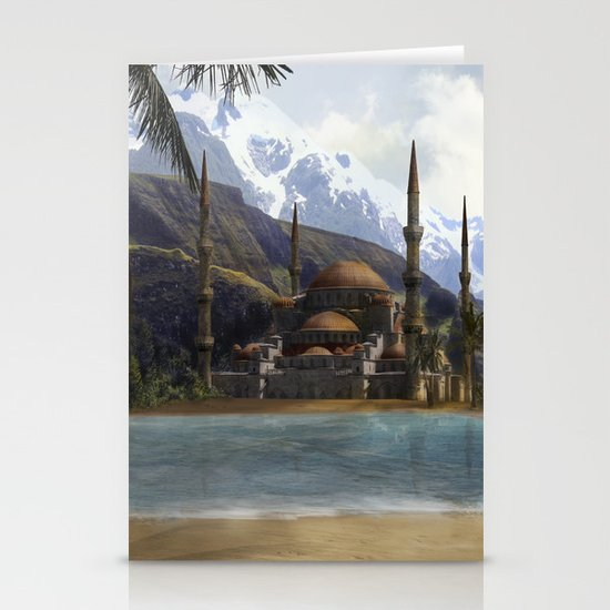 Hidden in the Mountains Stationery Cards