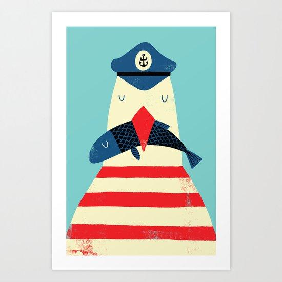 A Sailors Life For Me Art Print