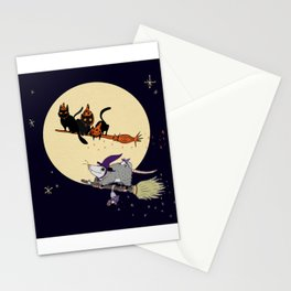 Witches' Familiars? Stationery Cards