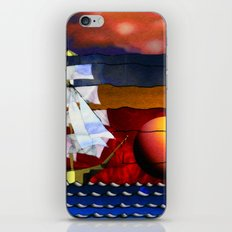 Doodlage 04 - Lets sail away iPhone & iPod Skin