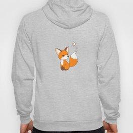 Cute Little Fox Watching Butterly Hoody