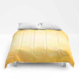 Golden Sunburst Comforters