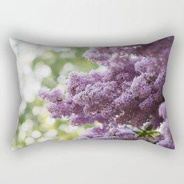 Violet Syringa vulgaris lila Rectangular Pillow