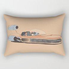 X-34 Landspeeder Rectangular Pillow