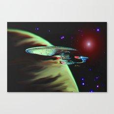 Enterprise NCC 1701D Canvas Print