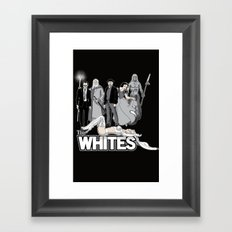The Whites Framed Art Print