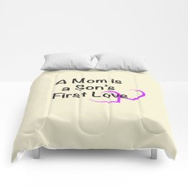 Mothers Day Quote Comforters