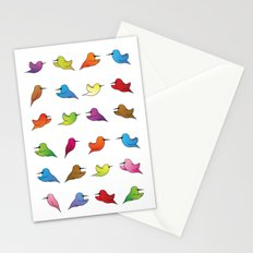 Humming Birds Stationery Cards
