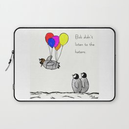 To be a Flying Penguin Laptop Sleeve