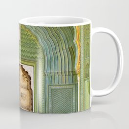 Green gate City Palace Jaipur, India Coffee Mug