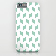 rhombus bomb in grayed jade iPhone 6s Slim Case