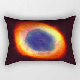 Ring Of Fire Rectangular Pillow