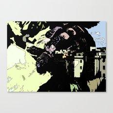 Revenge Of the Giant Canvas Print