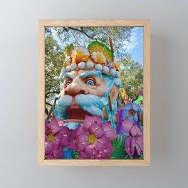 King of Carnival Framed Mini Art Print