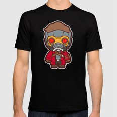Outlaw MEDIUM Black Mens Fitted Tee