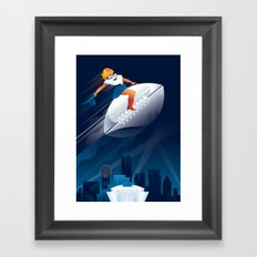The Big Game Framed Art Print