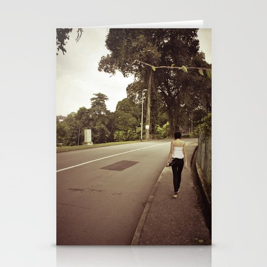 His and Her Journey.. Stationery Cards