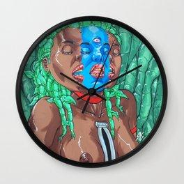Rupture/Rapture Wall Clock