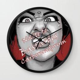Nolite te Bastardes Carborundorum Wall Clock