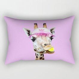 TENNIS GIRAFFE Rectangular Pillow