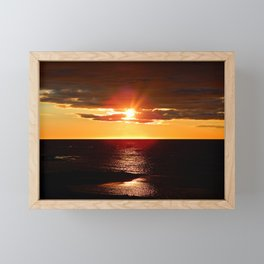 After The Storm and Before the Night Framed Mini Art Print