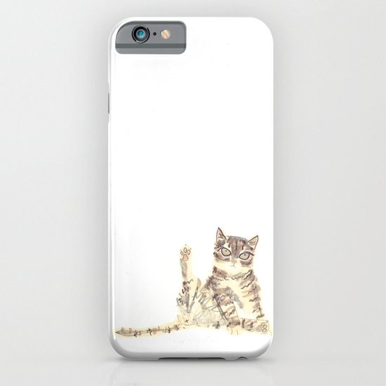 Cheeky Kitty Cat iPhone & iPod Case