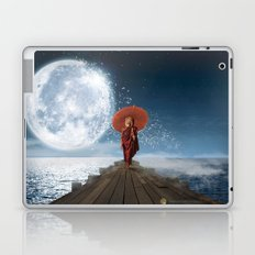 Lion Under the Moon Laptop & iPad Skin