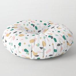 Tropical Terrazzo Floor Pillow