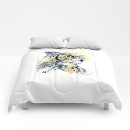 Great Horned Owl Comforters