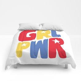 GRL PWR Star Comforters
