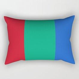 Flag of planet Mars Rectangular Pillow