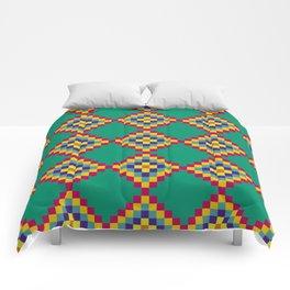 Green Tiles Comforters