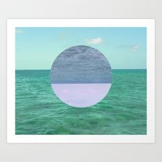 Peaceful Calm  Art Print