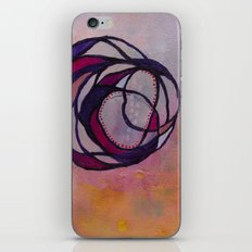 Pink Spiral iPhone & iPod Skin