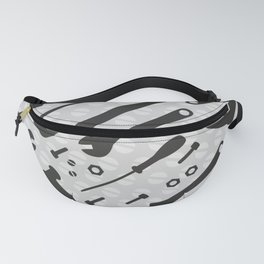 Tools Pattern Fanny Pack