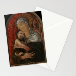 Andrea Mantegna - Madonna and Child with Seraphim and Cherubim Stationery Cards